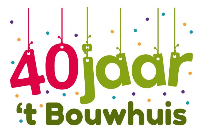 40 jaar bestaan Welkomintwente   't Bouwhuis Enschede bestaat 40 jaar 40 jaar bestaan