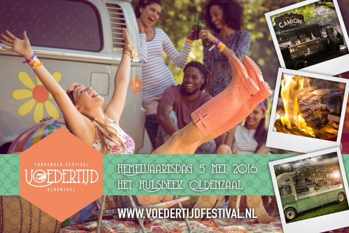 Enschede Donderdag 5 Mei Foodtruckfestival Voedertijd Op Het Hulsbeek